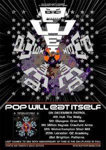 UK tour dates poster
