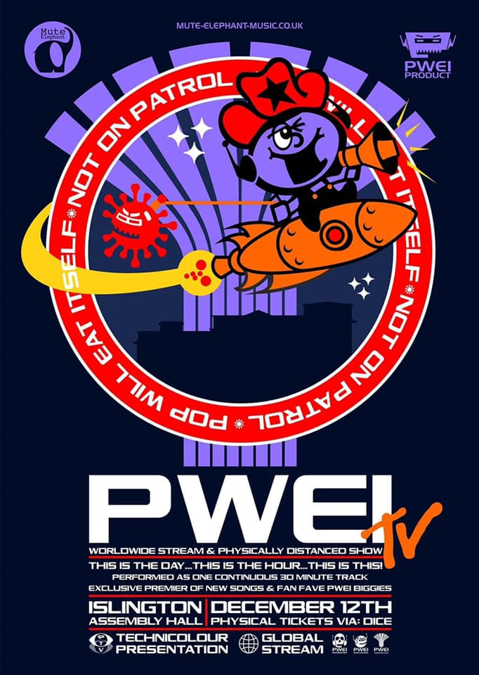 PWEI live stream poster